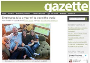 uOttawa Gazette - August 28, 2013