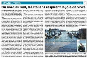Le Relfet article on Italian life